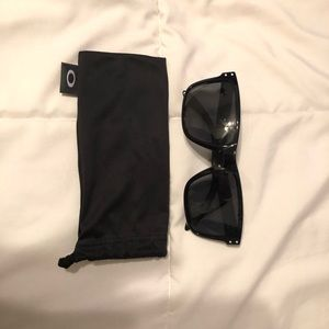 Black and grey Holbrooks never worn Oakleys